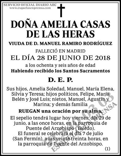 Amelia Casas de las Heras